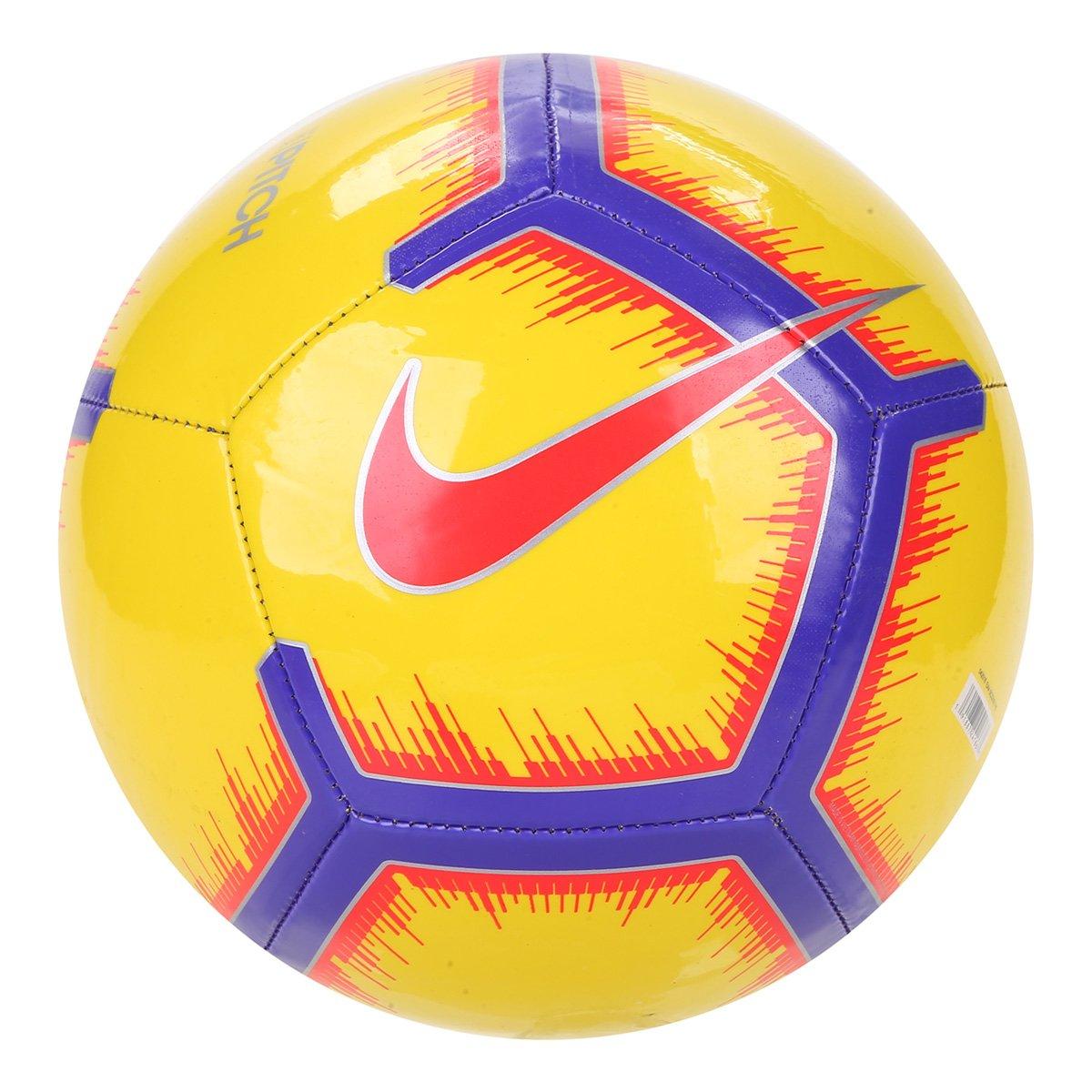 16e55a75d804b Bola de Futebol Campo Pitch Nike - Amarelo - Compre Agora