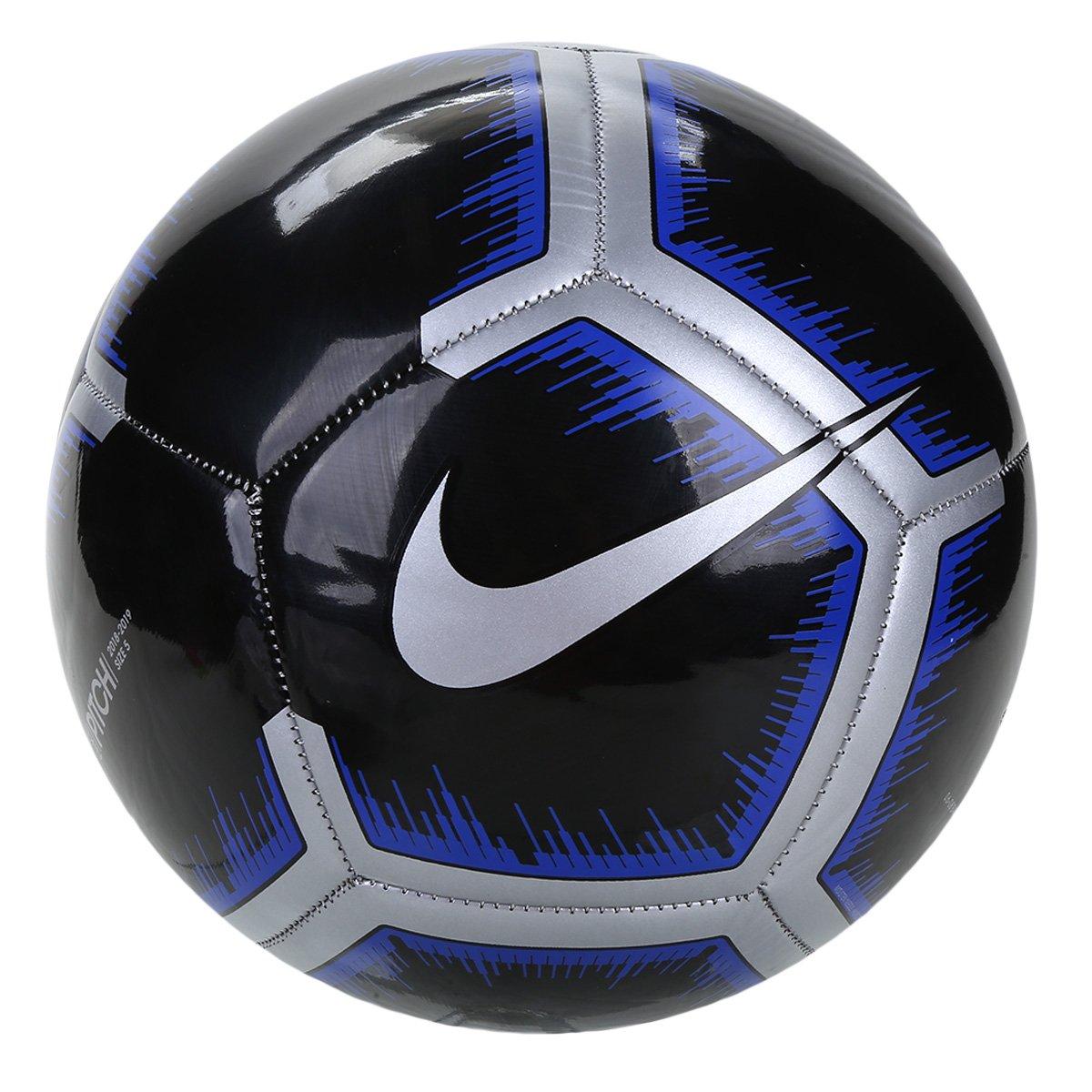 656b9778ad356 Bola de Futebol Campo Pitch Nike - Preto e Cinza - Compre Agora ...