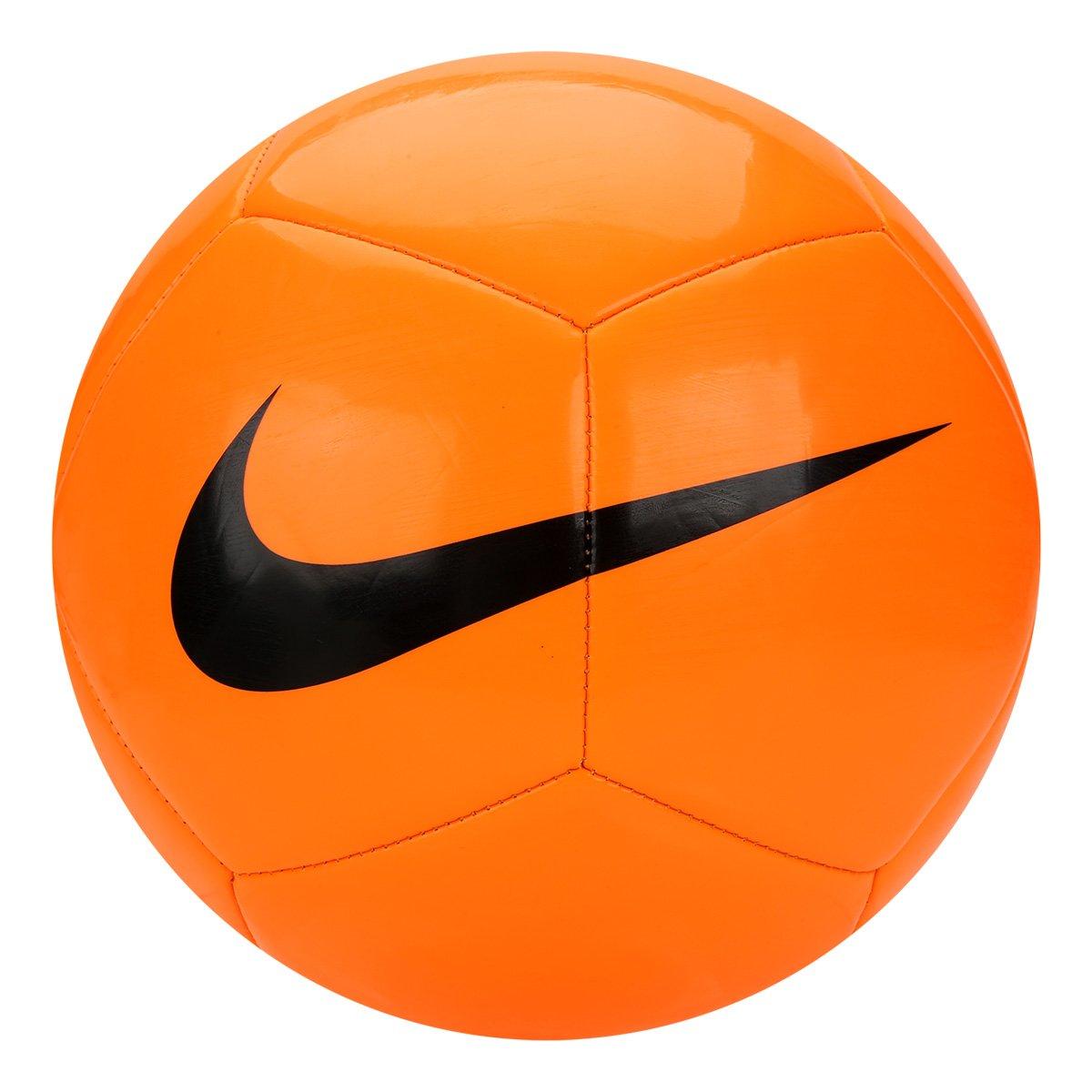 8448d746f234d Bola Futebol Campo Nike Pich Team - Laranja e Preto - Compre Agora ...