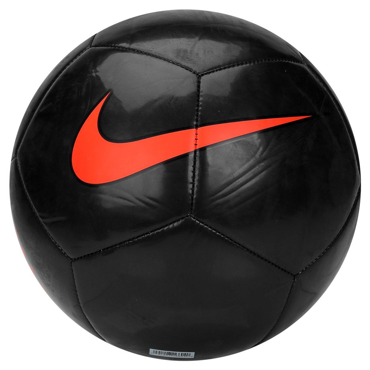 Bola Futebol Campo Nike Pitch Trainning - Preto e Laranja - Compre ... 0709044ff6598