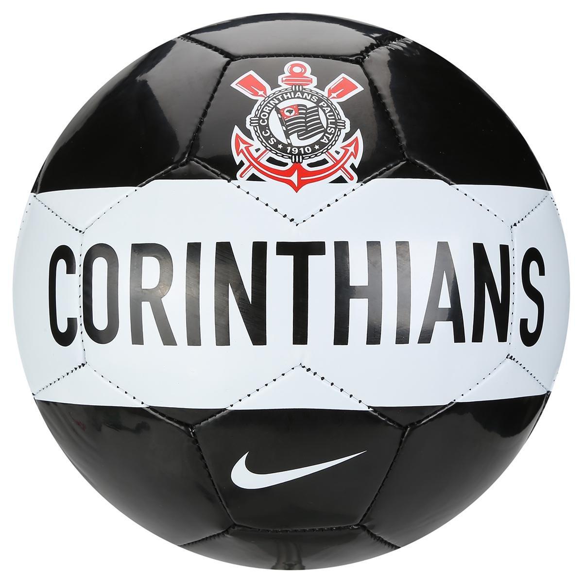 Bola Futebol Nike Corinthians Supporter s Ball Campo - Compre Agora ... c9684856a4970