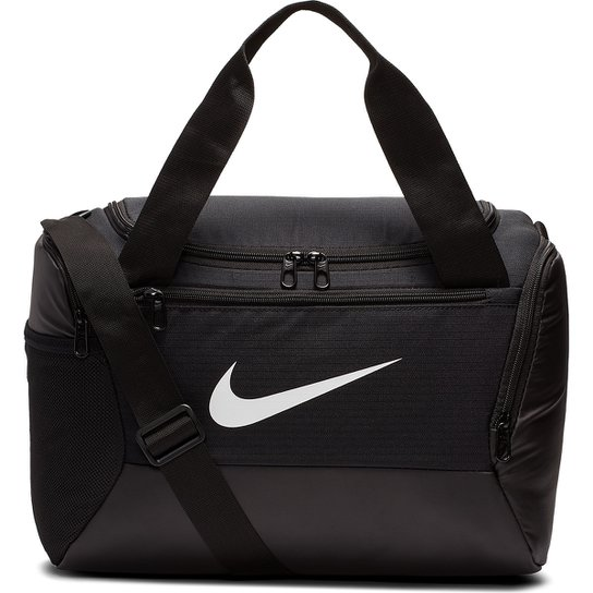Bolsa Nike Brasilia Xs Duff 9.0 - 25 Litros - Preto+Branco