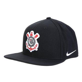 Boné Corinthians Nike Pro Aba Reta