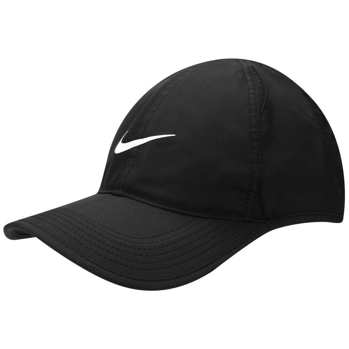 Boné Nike Aba Curva Featherlight - Compre Agora  7fc7691595b