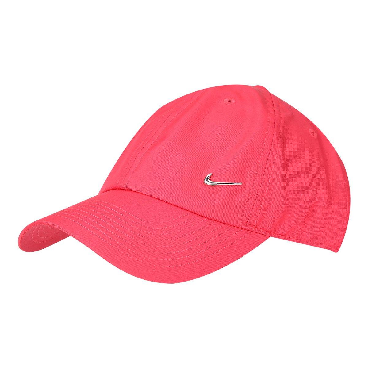 Boné Nike Aba Curva H86 Metal Swoosh - Pink - Compre Agora  511820e81db2a