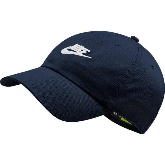 Boné Nike Sportswear H86 Futura Washed Aba Curva - Preto