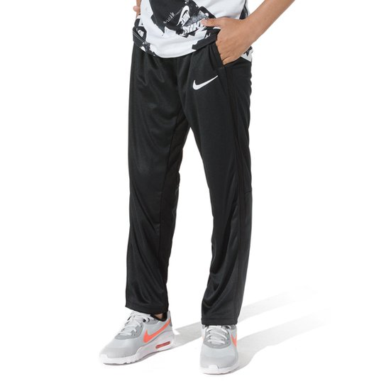 Calça Infantil Nike B Trophy Pant Masculina - Preto+Branco