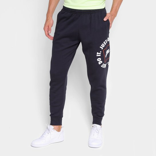 Calça Jogger Nike Nsw Jdi Flc Masculina - Preto
