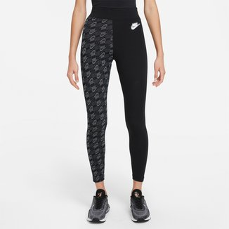 Calça Legging Nike Nsw Aop Hr Ftra Feminina