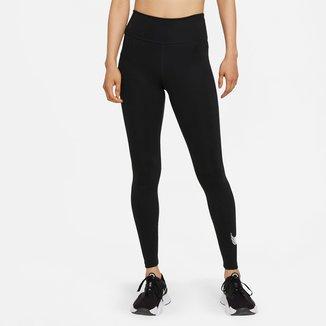 Calça Legging Nike One Icnclsh Gx Mr Feminina