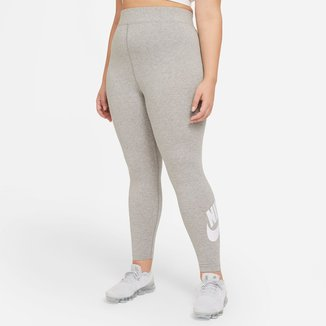 Calça Legging Plus Size Nike Essential Futura Hr Feminina