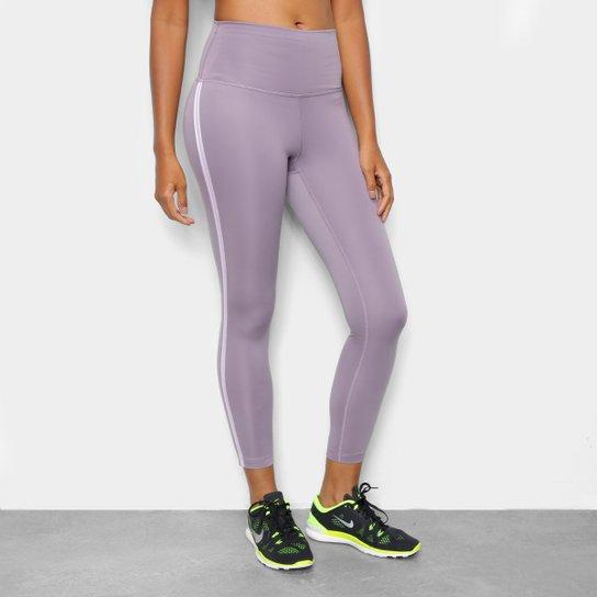 Calça Nike 7/8 Yoga Novelty Cintura Alta Feminina - Lilás+Rosa