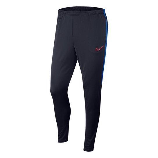 Calça Nike Academy Masculina - Marinho+Vermelho