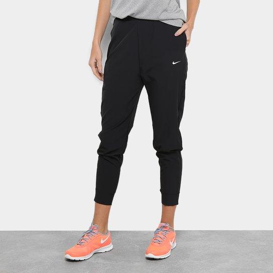 nuovo stile ce62e b34cb Calça Nike Bliss Vctry Pant Cintura Alta Feminina - Preto e Branco