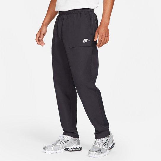 Calça Nike Nsw Ce Players Midnight Masculina - Preto+Branco