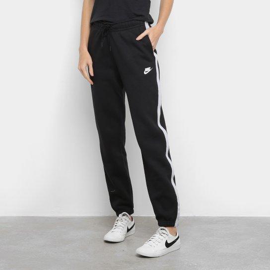Calça Nike Nsw Icon Clash Feminina - Preto
