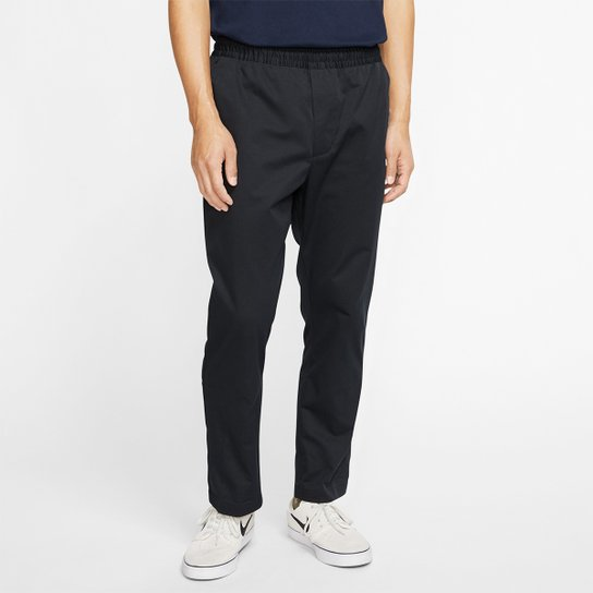Calça Nike SB Dry Pull On Chino Masculina - Preto