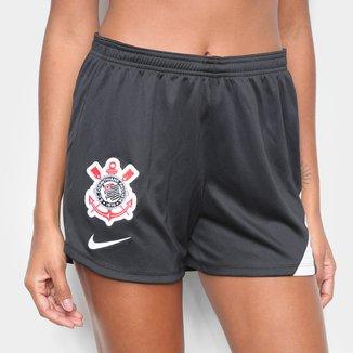 Calção Corinthians Treino 20/21 Nike Feminino