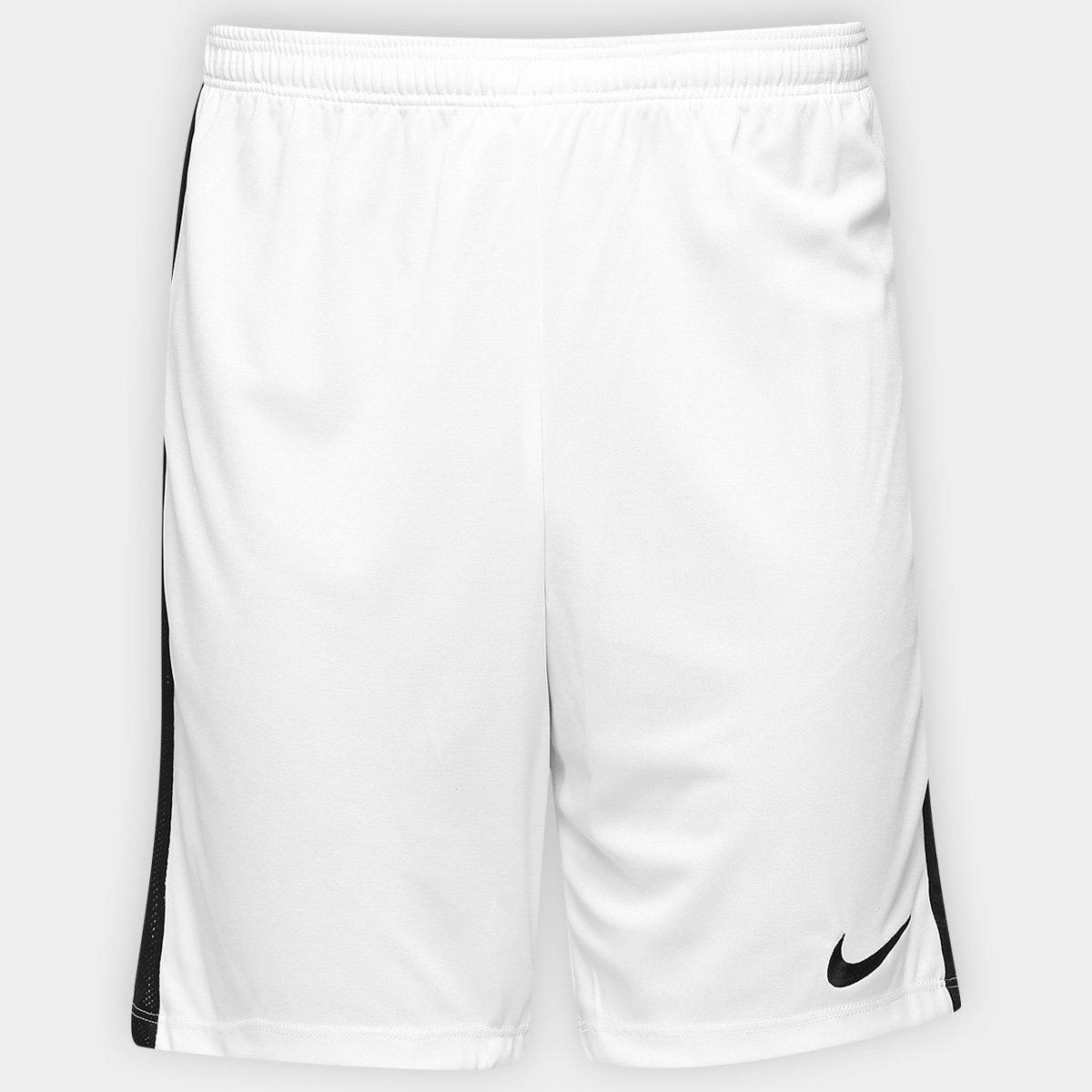Calção Nike Dry Academy Masculino - Branco e Preto - Compre Agora ... 18b543a94caac