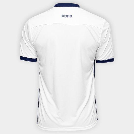 Camisa Corinthian Casuals Away 17/18 - Torcedor Masculina - Branco