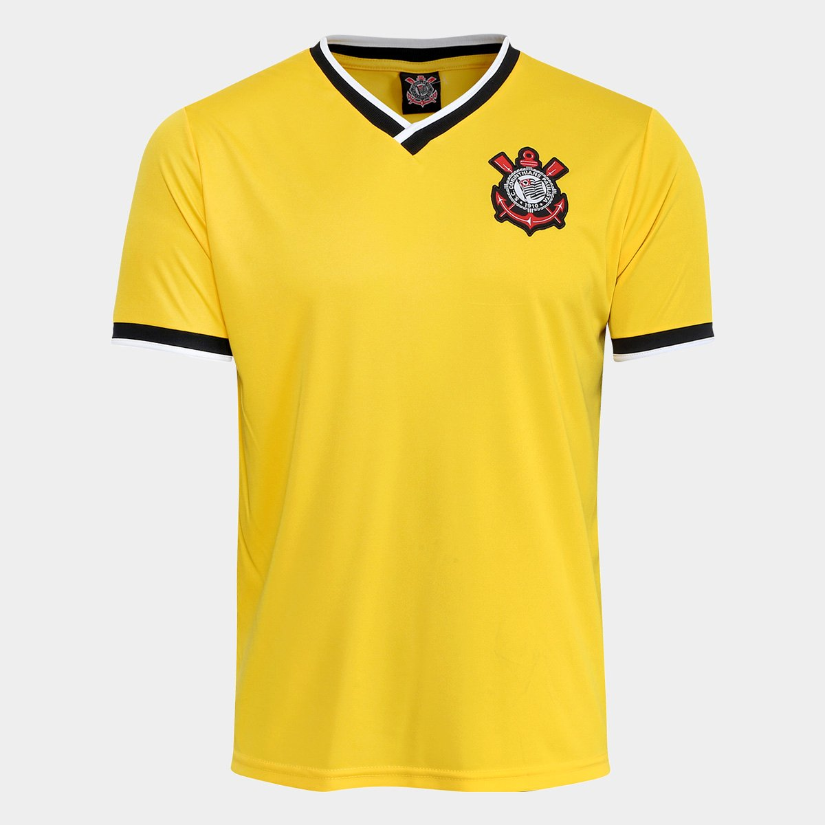 4aeb1aa7a3ecf Camisa Corinthians 2014 n° 10 Edição limitada Masculina - Amarelo ...