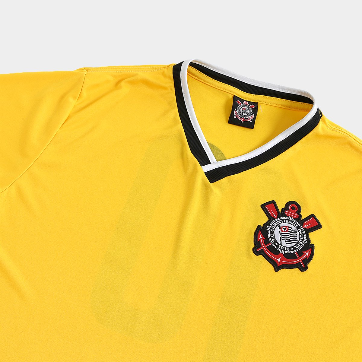 27c838506d Camisa Corinthians 2014 n° 10 Edição limitada Masculina - Amarelo ...