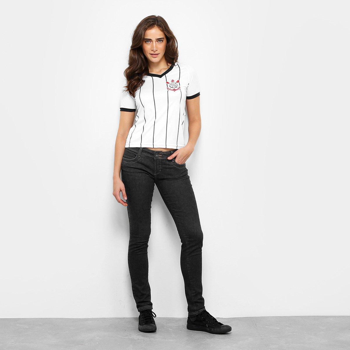 fd181b8923 Camisa Corinthians Fenomenal Edição Especial Feminina - Branco ...