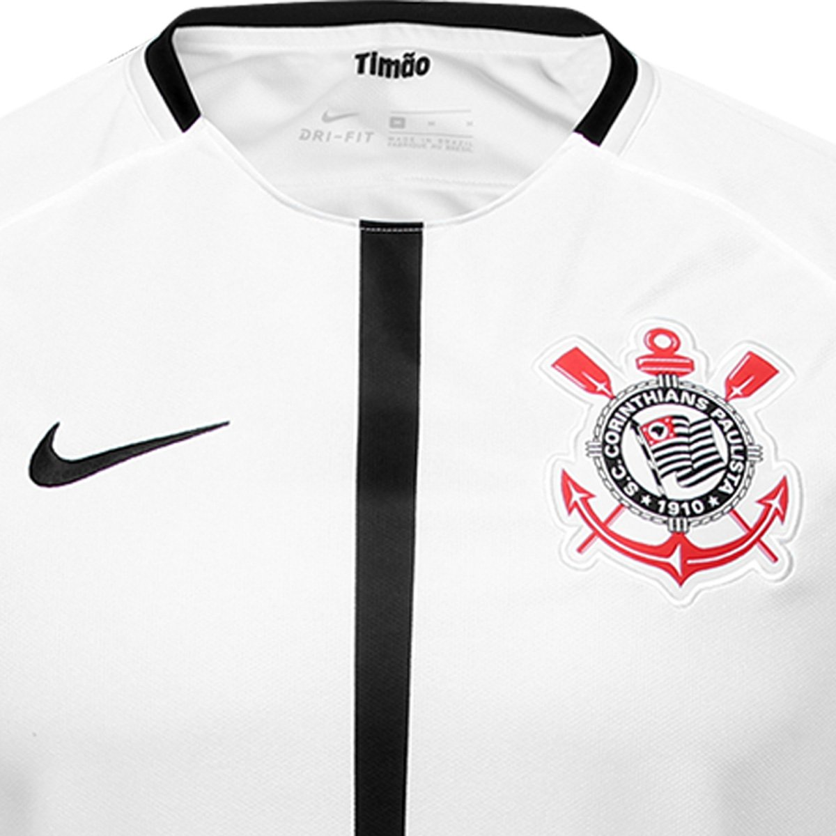 101a138ab8 Camisa Corinthians I 17 18 s nº Torcedor Nike Masculina - Compre ...