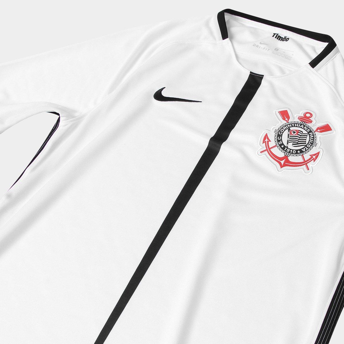 21370190fe Camisa Corinthians I 17 18 s nº Torcedor Nike Masculina - Compre ...