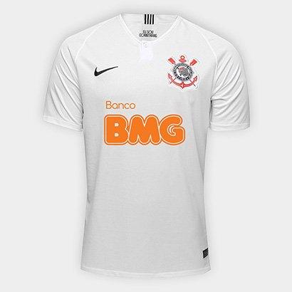 4667765a8cae26 Camisa Corinthians I 18/19 s/n° Patrocínio BMG Torcedor Nike Masculina    Shop Timão