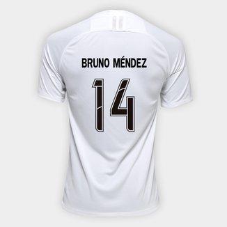 Camisa Corinthians I 19/20 - Bruno Méndez Nº 14 - Torcedor Nike Masculina