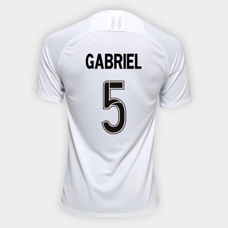 Camisa Corinthians I 19/20 - Gabriel Nº 5 - Torcedor Nike Masculina