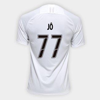 Camisa Corinthians I 19/20 - Jô Nº 77 - Torcedor Nike Masculina