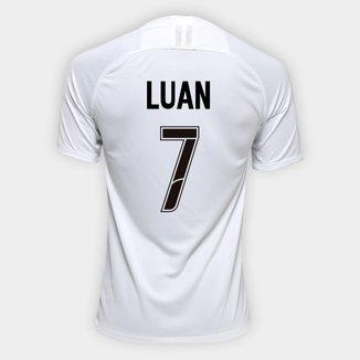 Camisa Corinthians I 19/20 - Luan Nº 7 - Torcedor Nike Masculina