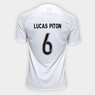 Camisa Corinthians I 19/20 - Lucas Piton Nº 6 - Torcedor Nike Masculina