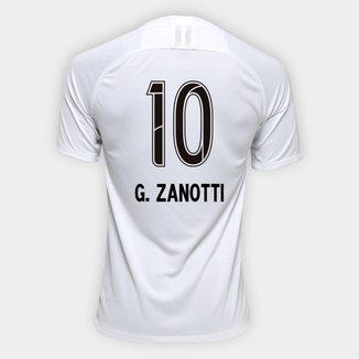 Camisa Corinthians I 19/20 N° 10 G. Zanotti - Torcedor Nike Masculina