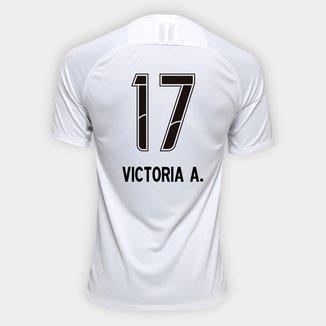Camisa Corinthians I 19/20 N° 17 Victoria A. - Torcedor Nike Masculina