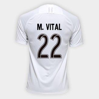 Camisa Corinthians I 19/20 Nº 22 M. Vital - Torcedor Nike Masculina