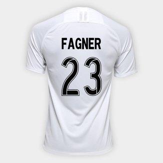 Camisa Corinthians I 19/20 - Nº 23 Fagner- Torcedor Nike Masculina