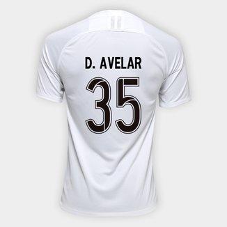Camisa Corinthians I 19/20 Nº 35 D. Avelar - Torcedor Nike Masculina