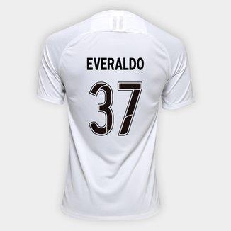 Camisa Corinthians I 19/20 Nº 37 Everaldo - Torcedor Nike Masculina