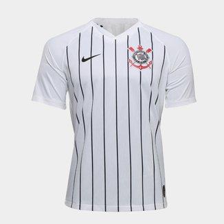 Camisa Corinthians I 19/20 s/nº Jogador Nike Masculina