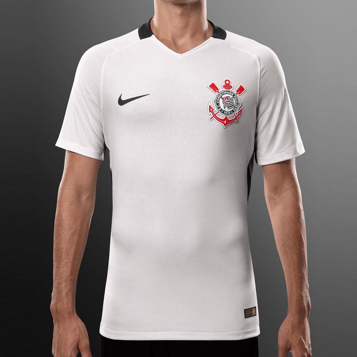 Camisa Corinthians I 2016 s nº - Jogador Nike Masculina - Compre Agora  177ce90dfa10e