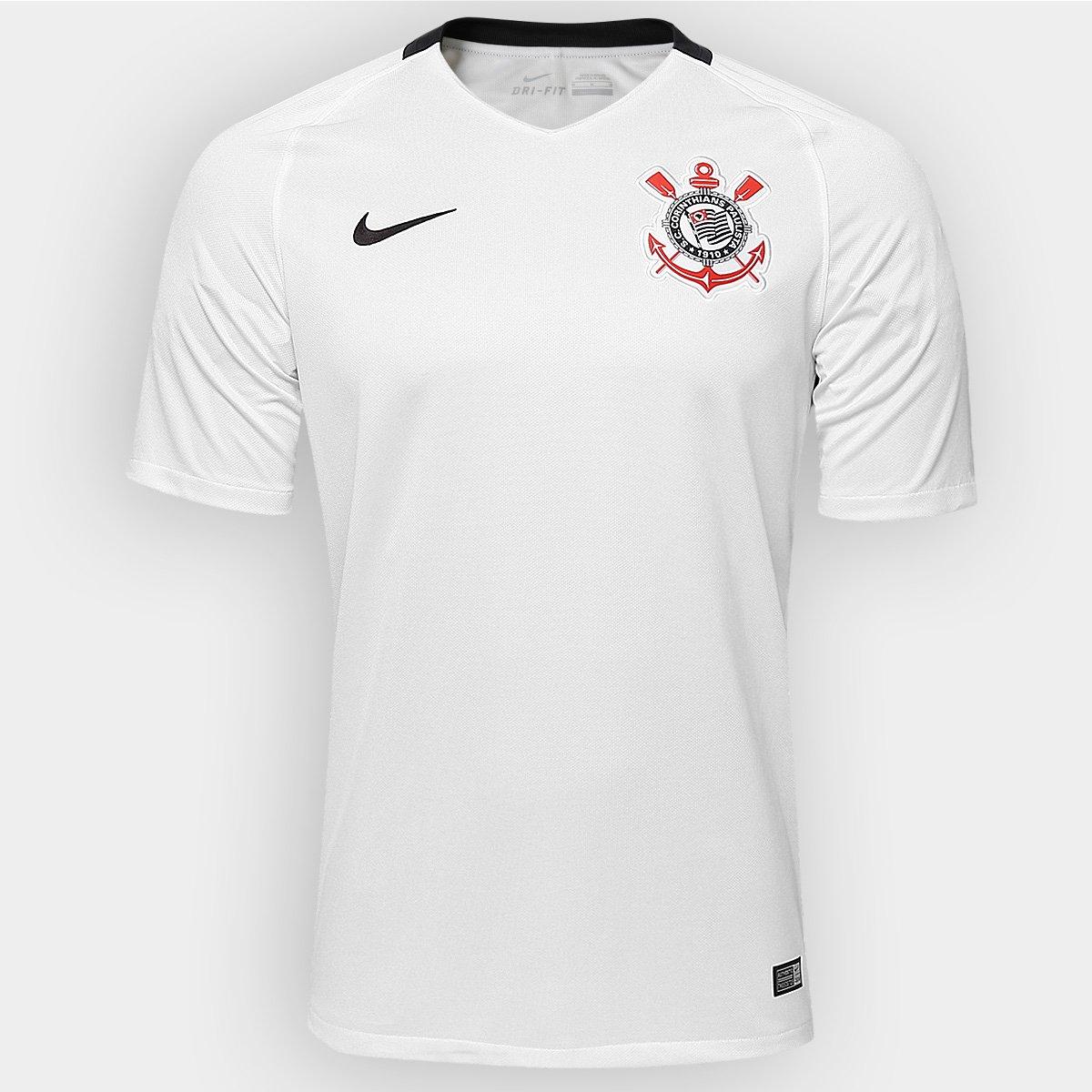 Camisa Corinthians I 2016 s nº Torcedor Nike Masculina - Compre ... a9c022f8e3805
