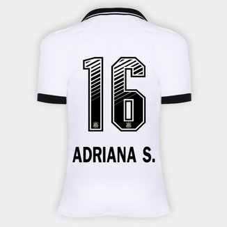 Camisa Corinthians I 20/21 - Adriana S. N° 16 - Torcedor Nike Feminina
