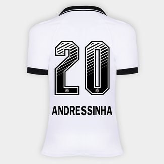 Camisa Corinthians I 20/21 - Andressinha N° 20 - Torcedor Nike Feminina