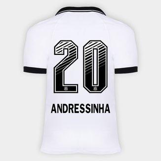 Camisa Corinthians I 20/21 - Andressinha N° 20 - Torcedor Nike Masculina