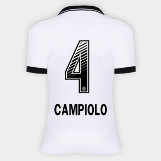 Camisa Corinthians I 20/21 - Campiolo N° 4 - Torcedor Nike Feminina