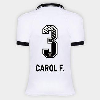 Camisa Corinthians I 20/21 - Carol F. N° 3 - Torcedor Nike Feminina