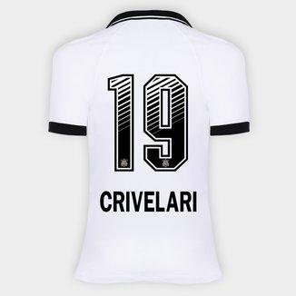 Camisa Corinthians I 20/21 - Crivelari N° 19 - Torcedor Nike Feminina